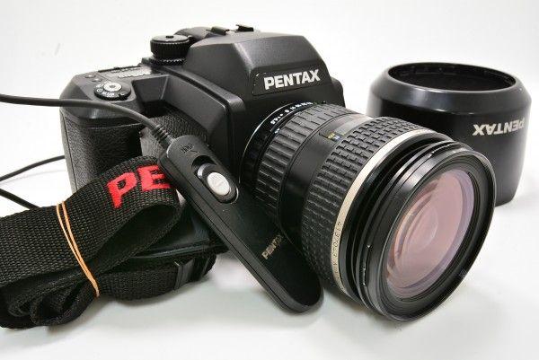 PENTAX ペンタックス 645N Ⅱ + smc PENTAX-FA ZOOM 45-85mm F4.5 中判 ブローニー 標準 ズーム レリーズ付き 送料無料 1円オークション