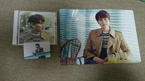 キュヒョン Celebration CDのみ盤+トレカ+会場限定下敷き1枚
