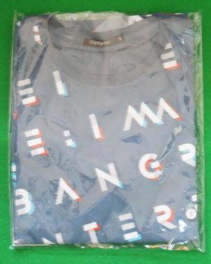 flumpool 2017 Re:imageツアーTシャツ<スモークネイビー>[INTERROBANG会員限定デザイン] ライブグッズの画像