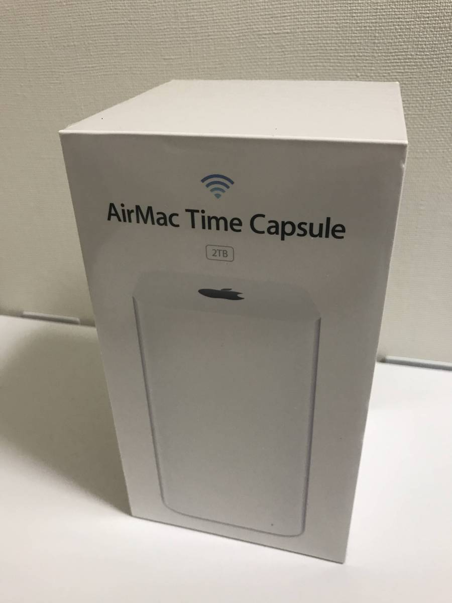 APPLE AirMac Time Capsule - 2TB ME177J/A 【全く新品】【Apple限定保証付き】