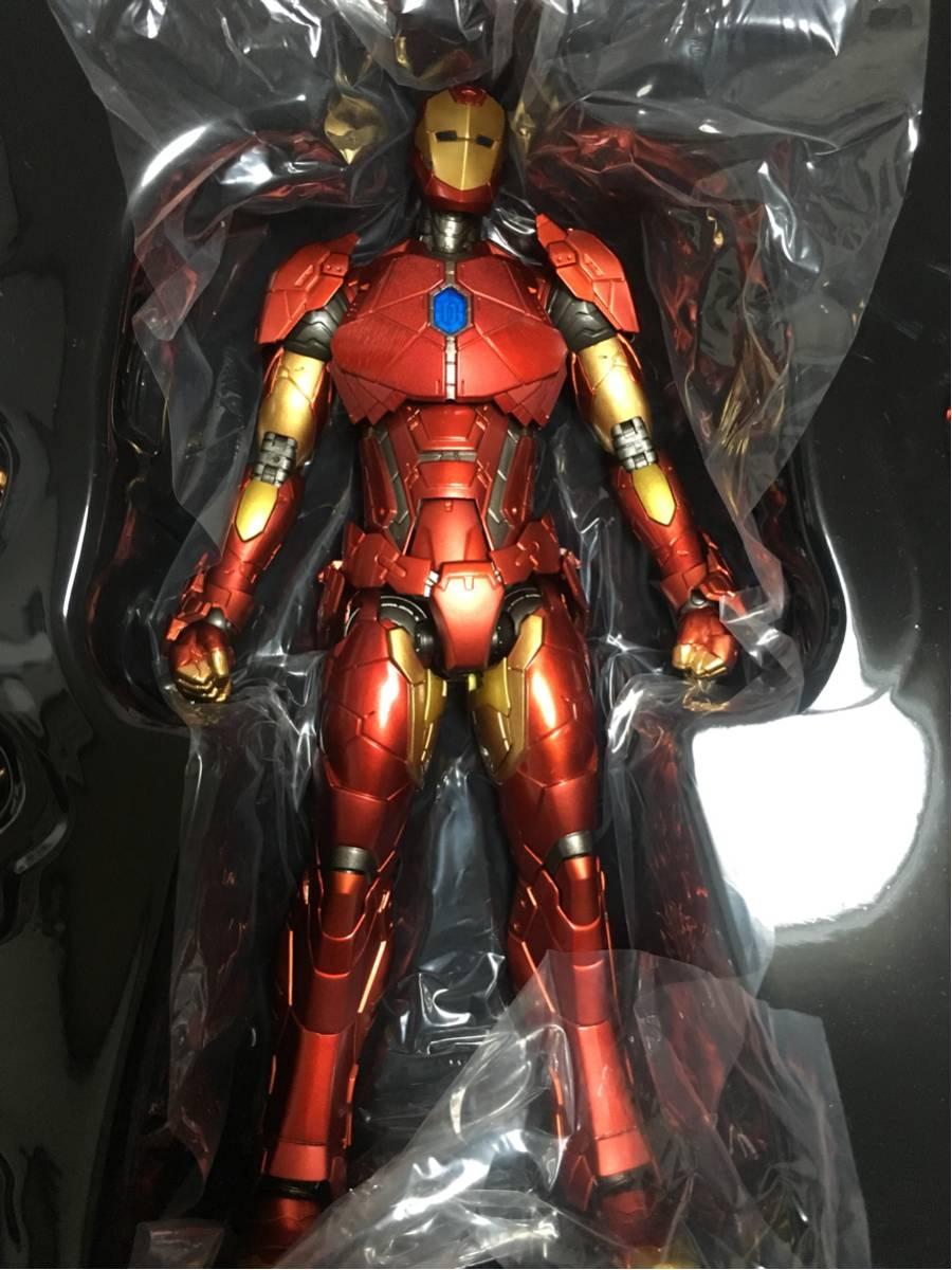 千値練 アイアンマン IRON MAN SHAPE CHANGING ARMOR グッズの画像
