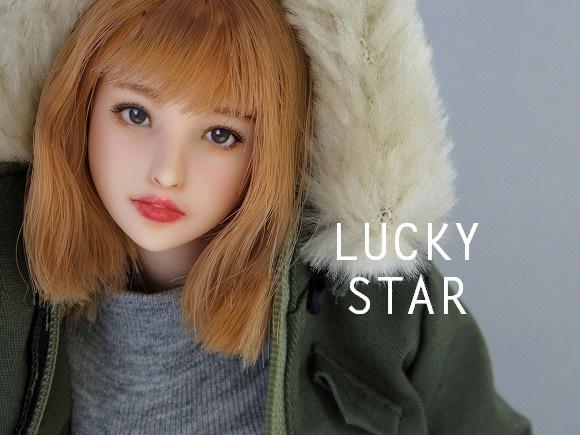 【LUCKY STAR】 1/6カスタムドールヘッド「 美知 みち 」