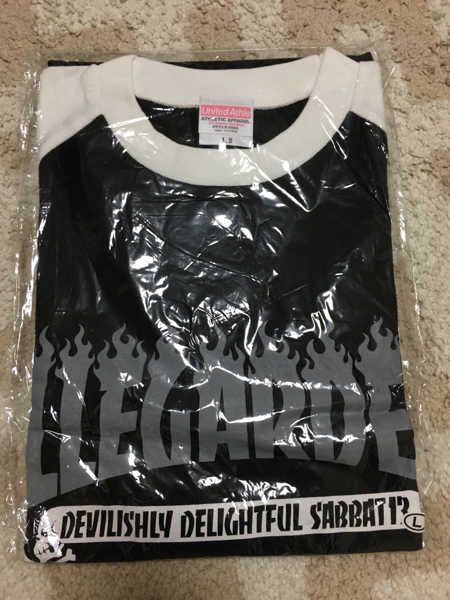 【新品】ELLEGARDEN エルレガーデン SABBAT13ラグランTシャツ ライブグッズの画像