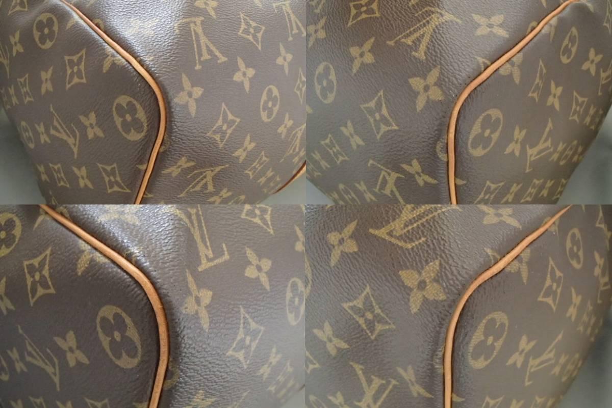 ルイヴィトン モノグラム キーポル45 ボストンバッグ M41418 旅行 出張 カバン ハンドバッグ Louis Vuitton_画像8
