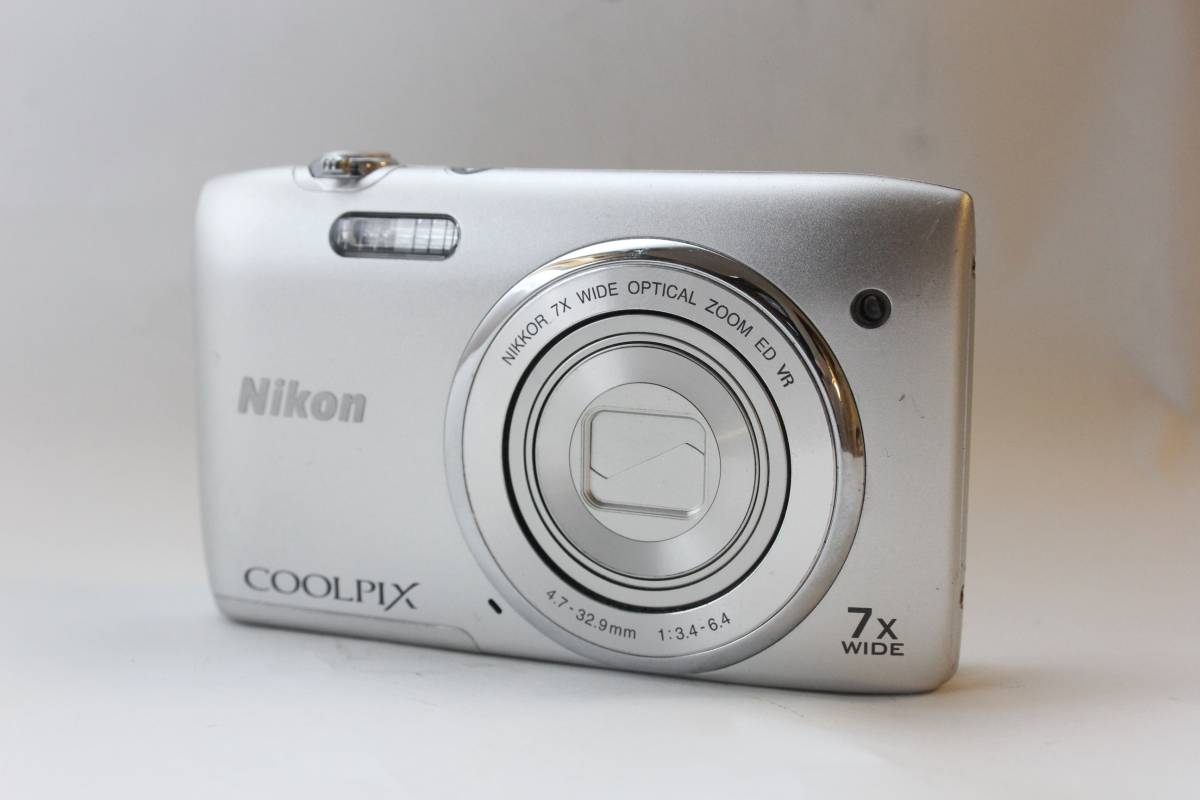 ★極上品★Nikon ニコン COOLPIX S3500 クールピクス DIGITAL コンパクト デジタルカメラ 2005万画素