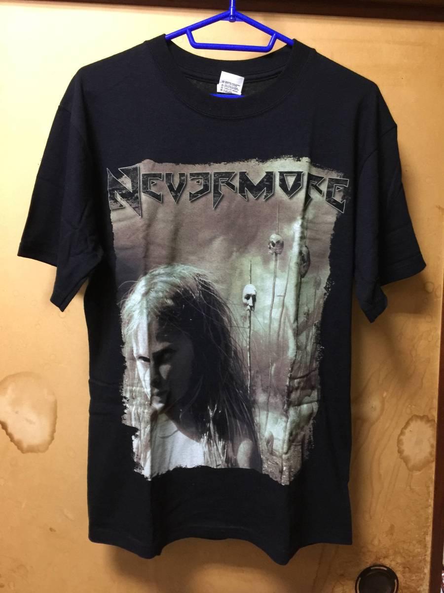 Nevermore ネヴァーモア Godless Endeavor Tシャツ Mサイズ バンドT ハードロック メタル スラッシュ Sanctuary サンクチュアリ Rock Metal