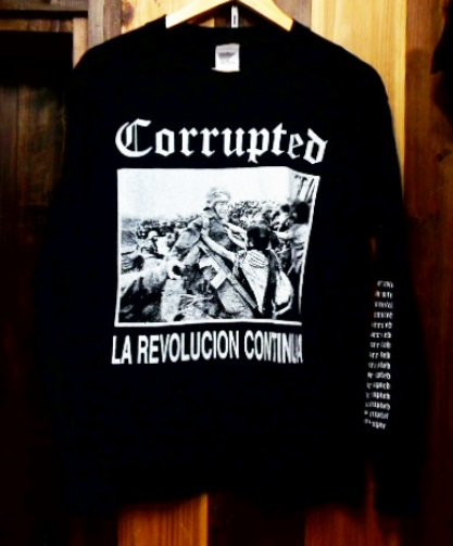 CORRUPTED 長袖 Tシャツ dystopia BORIS CHURCH OF MISERY NEUROSIS