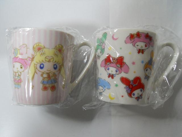 セーラームーン×マイメロディ マグカップ&キャンディ 全2種セット グッズの画像