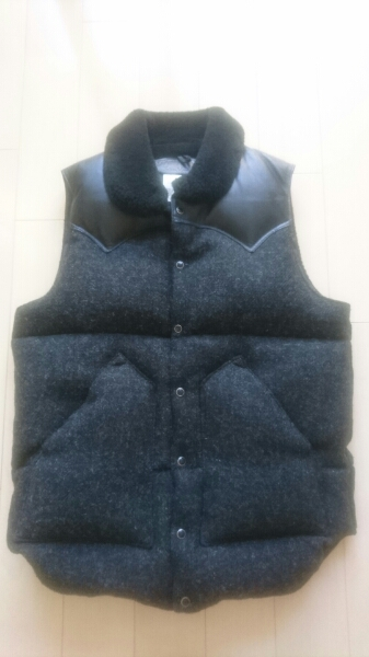 Rocky Mountain Feather bed × Harris Tweed UA 別注 38 1回着