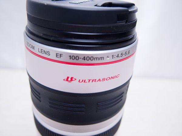 Canon キヤノン ULTRASONIC 100-400㎜ 1:4.5-5.6 プロテクター付き FV17388