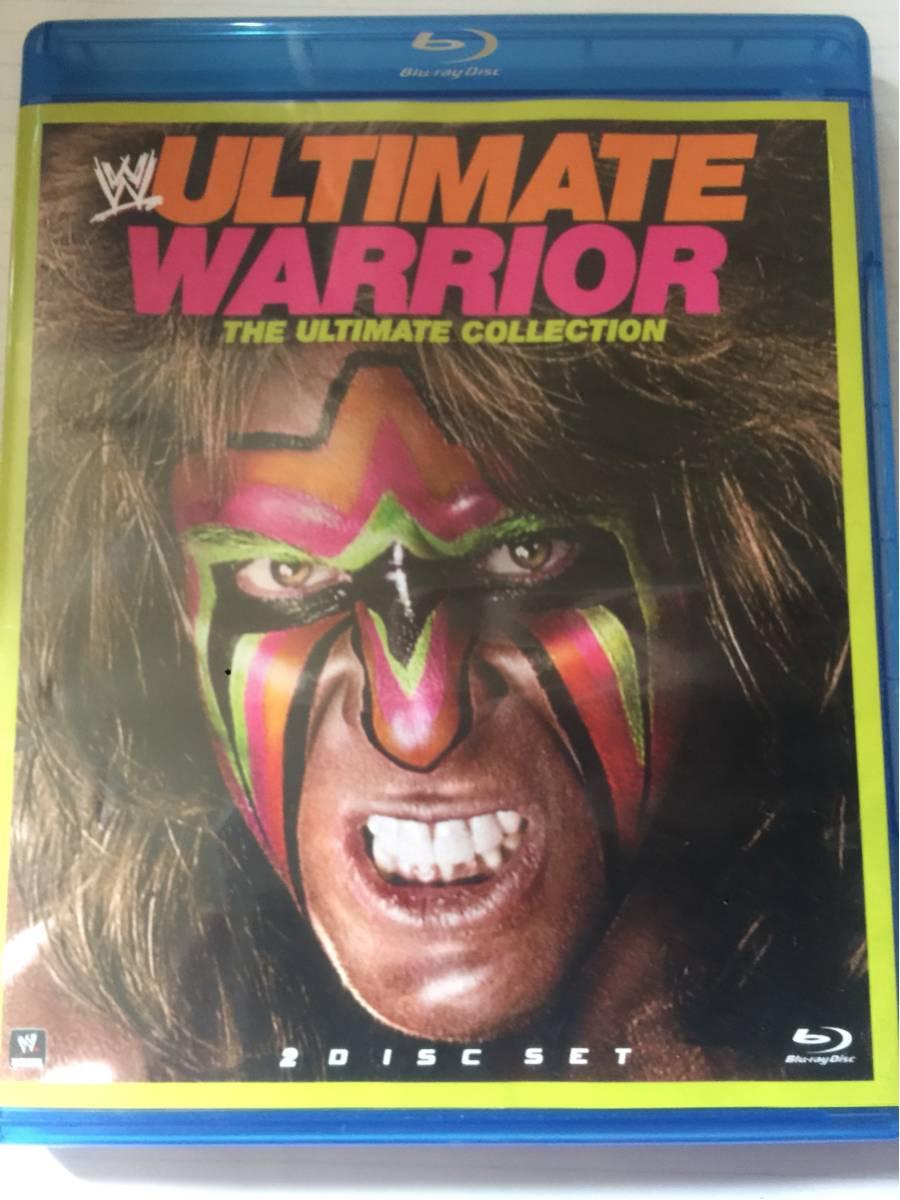 WWE Blu-ray アルティメットウォーリアー 送料無料 日本ブルーレイ機器で再生可能 プロレス グッズの画像