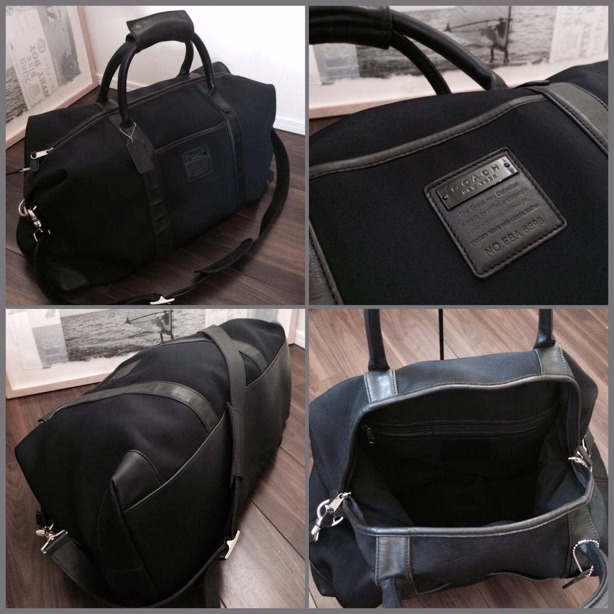 【正規品】COACH コーチ メンズ 2WAYボストンバッグ 旅行鞄 ショルダー ハンド 1000円~ 最落なし!!_画像3