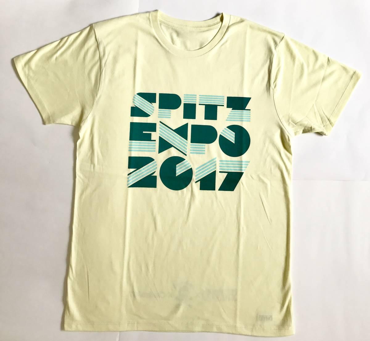 SPITZEXPO2017 グッズ Tシャツ イエロー L SPITZ 30th × ロックロックこんにちは!× Central67 / スピッツ / スピッツエキスポ