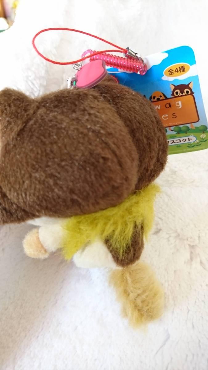 世界名作劇場 フランダースの犬 パトラッシュ フィンガー指人形マスコットぬいぐるみ ストラップ付き 鈴付き可愛いお顔 wag wag babies_画像8