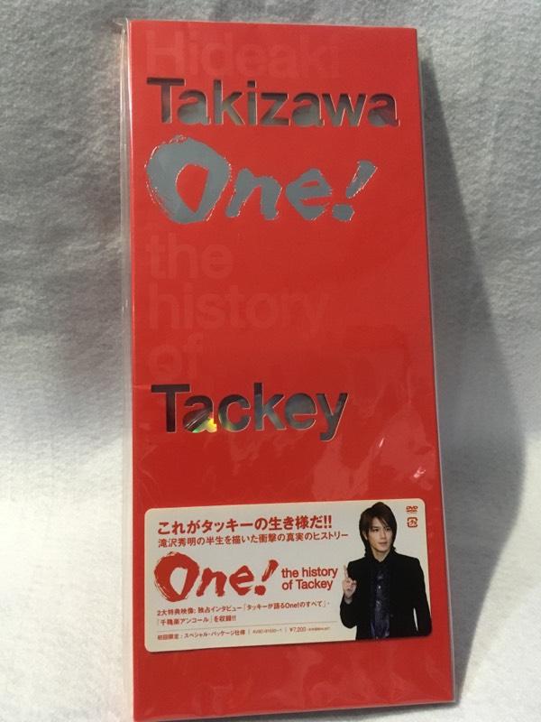 中古美品 新品同様DVD2枚組 滝沢秀明 舞台 One! 初回限定 スペシャル・パッケージ仕様