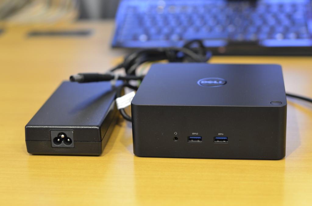 Dell ドッキングステーション Thunderbolt対応 TB16 ジャンク 検索(XPS Dock ドック)_画像2