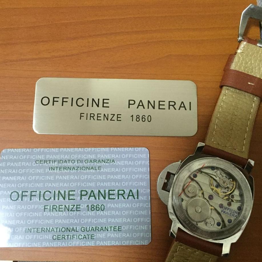 オフィチーネ パネライ PANERAI CLASSIC 高級腕時計_画像2
