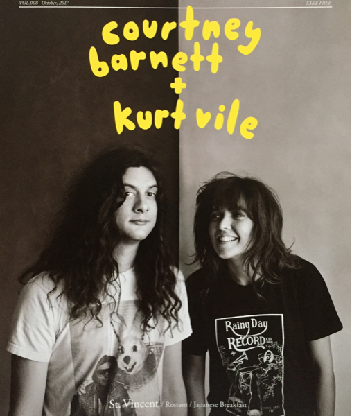 新品 Courtney Barnett & Kurt Vile インタビュー 掲載 冊子 非売品