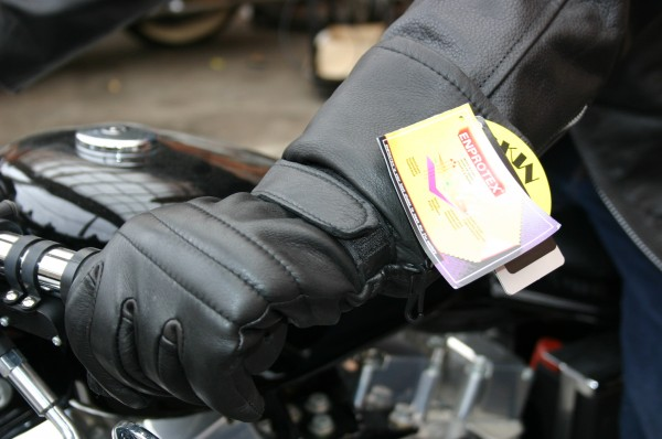 free shipping! Moto bruMOTOBLUEZ protection against cold * waterproof gun to let NAPA made deer leather tiaXL Harley