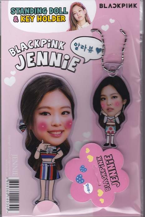 ☆New!■ジェニーJENNIE/BLACKPINKブラックピンク■スタンディングドール&キーホルダー☆韓国