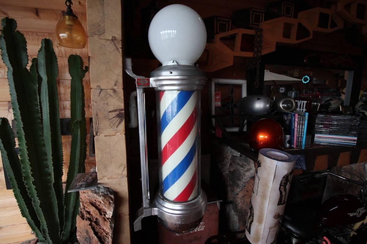 床屋さんのサイン。BARBER SHOPの看板。'50sスタイル!本物のアメリカアンティークです!!!