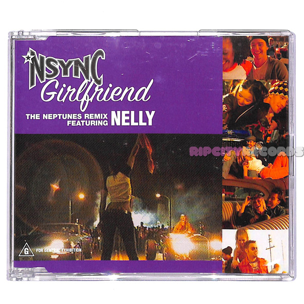 【CDS/007】NSYNC /GIRLFRIEND THE NEPTUNES REMIX feat. NELLY_画像1