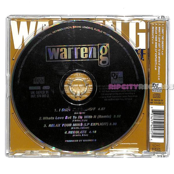 【CDS/009】WARREN G /I SHOT THE SHERIFF UK_画像2