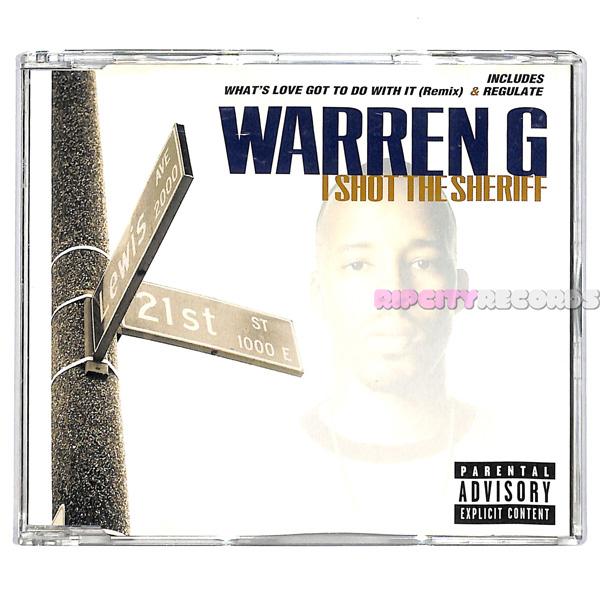 【CDS/009】WARREN G /I SHOT THE SHERIFF UK_画像1