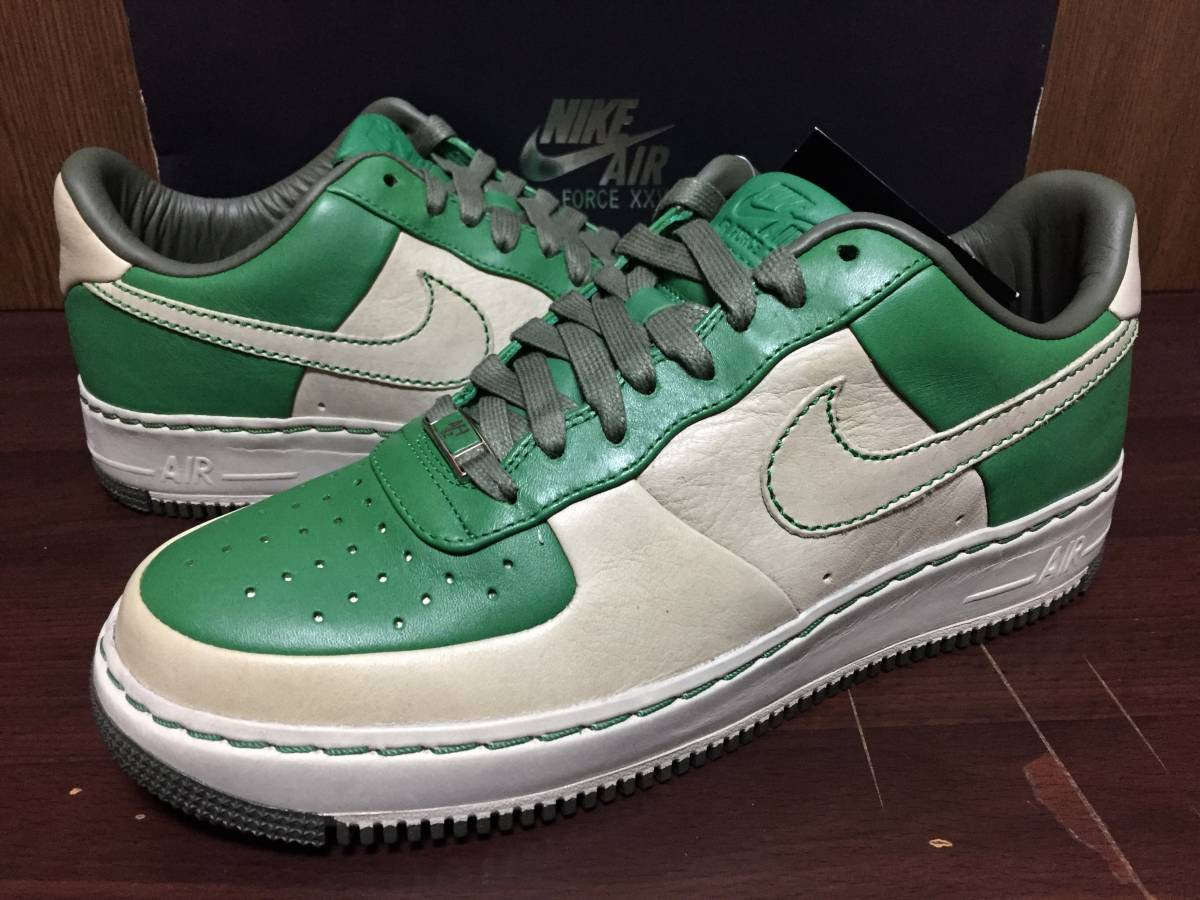 online store 26460 e2767 07年製 25周年 NIKE AIR FORCE 1 SPRM MCO IO ナイキ エアフォース サプリーム ボルチモア AF1316077-311ベージュ  グリーン US9.5