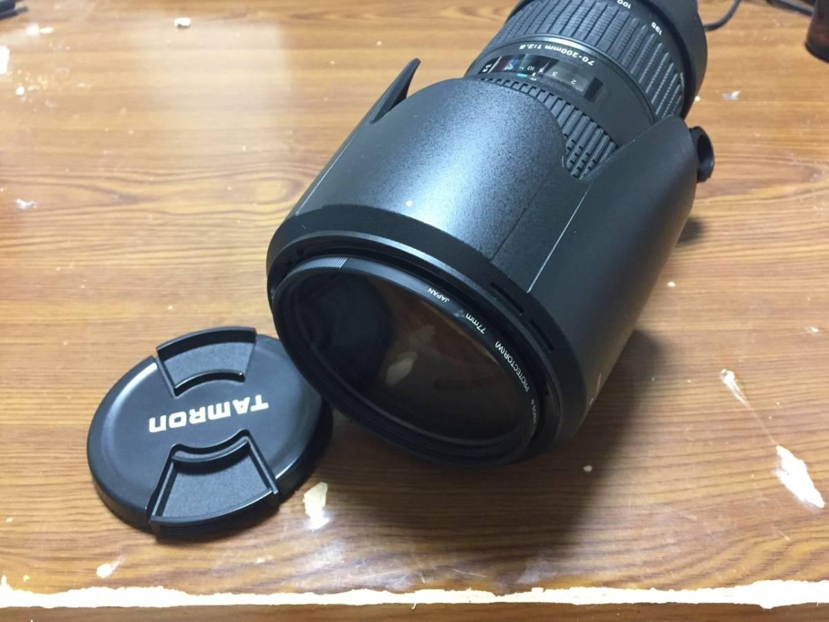 1円~★送料無料 ★美品★Tamron タムロン SP AF 70-200mm F2.8 Di LD IF MACRO Nikon ニコン