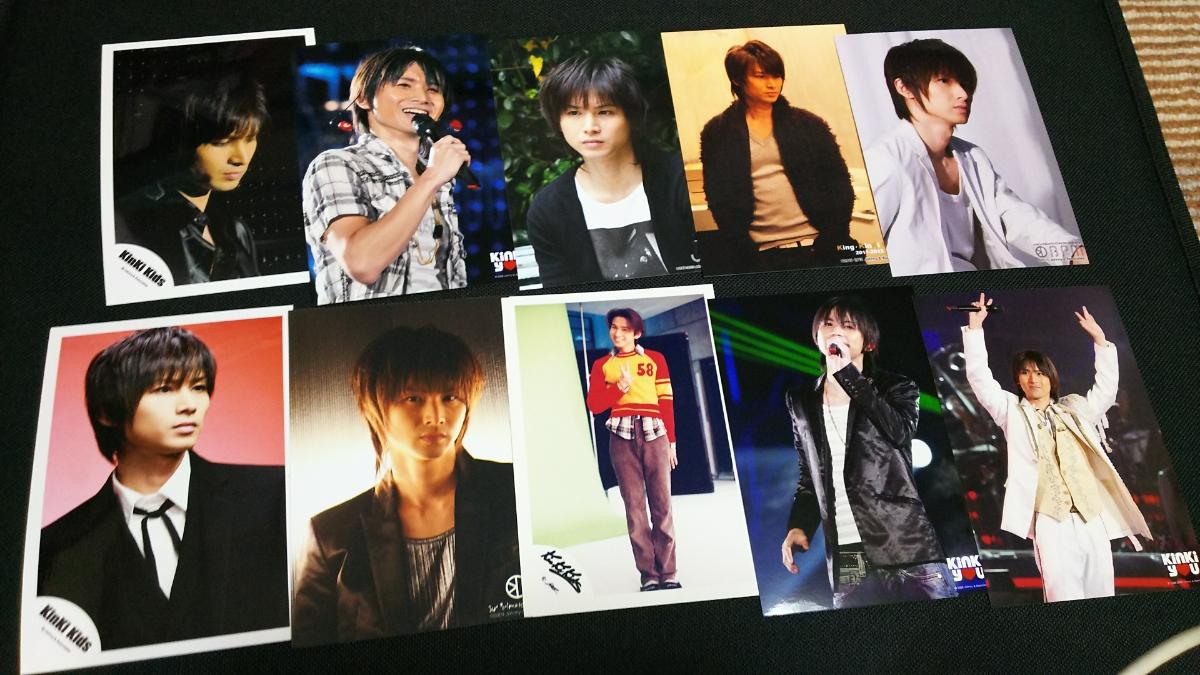 25★ KinKi Kids 堂本光一 キンキキッズ 公式写真 10枚セット BPM SHOCK