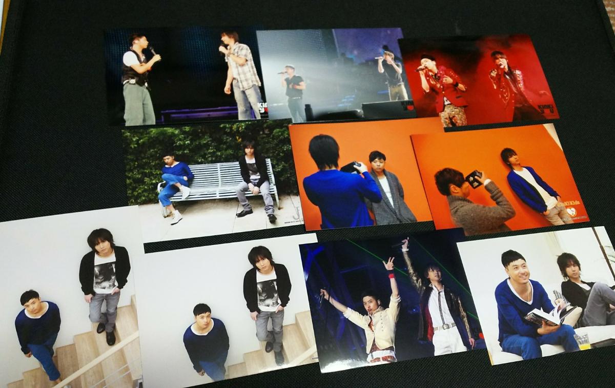 31★ KinKi Kids 堂本 剛 光一 キンキキッズ 公式写真 10枚セット KinKiYOU 緊急コンサート ライブ写真