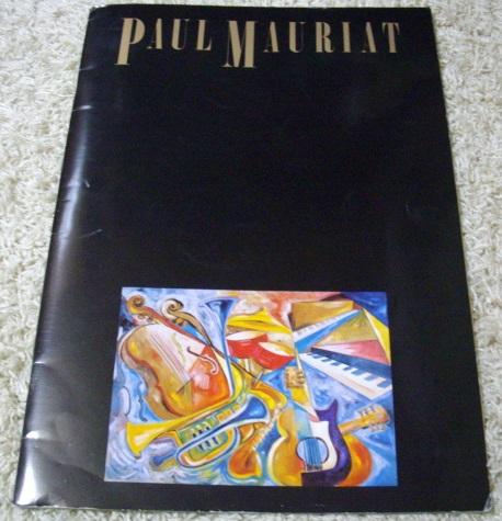 【ポスター付】ポール・モーリア・1981年・ジャパンツアー・パンフレット