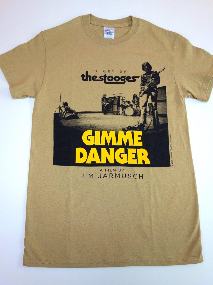 ギミーデンジャー GIMME DANGER Tシャツ STOOGES IGGY POP