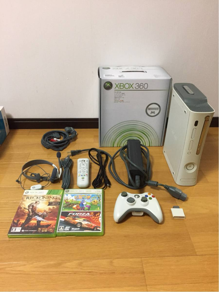 xbox360 &ソフト2本