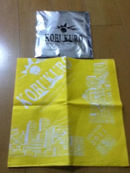 【新品】コブクロ★LIVE TOUR 2011★バンダナ(黄色)