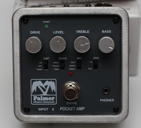 PALMER POCKET AMP ギターアンプシミュレーター