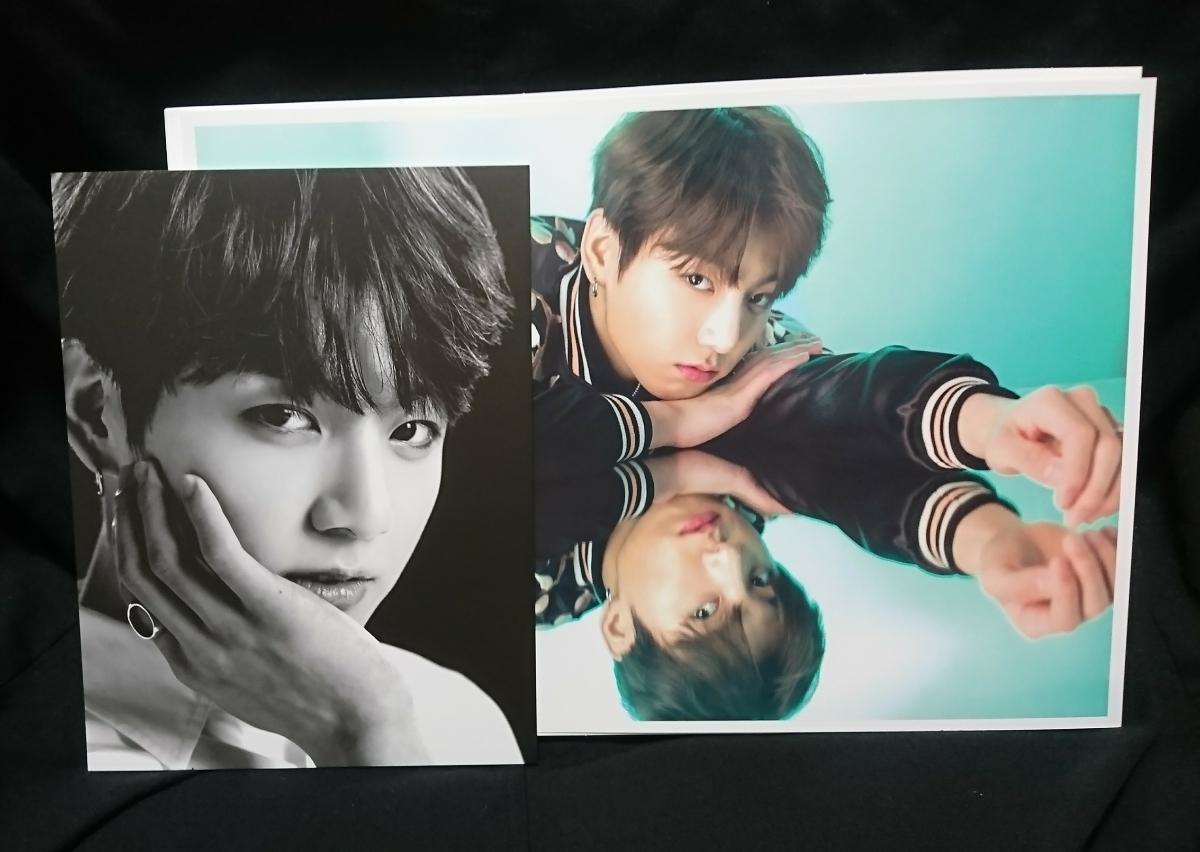 *防弾少年団* BTS WINGS 京セラグッズ ミニポスター ポストカードset JUNGKOOK ジョングク ライブグッズの画像