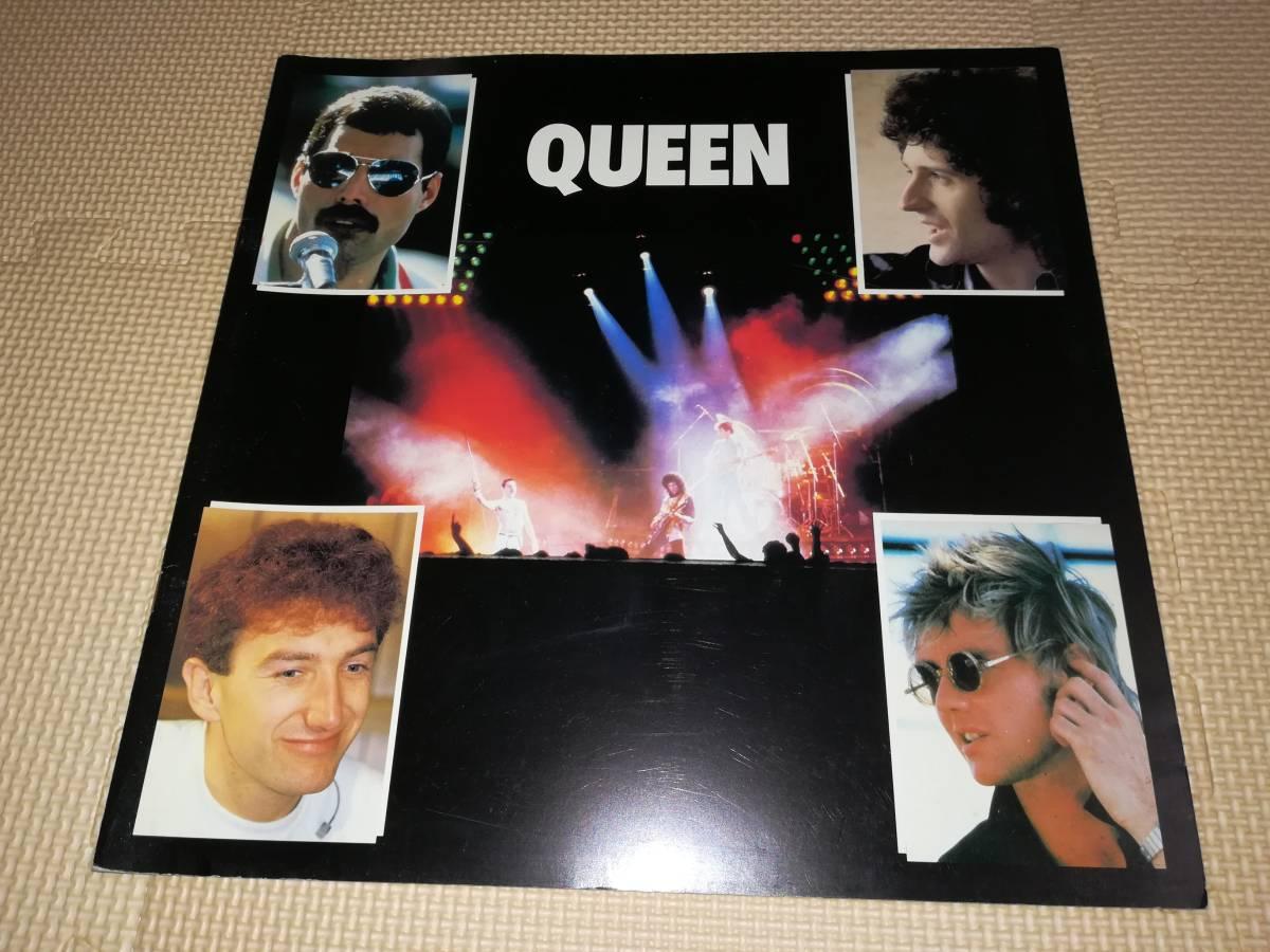 QUEEN JAPAN TOUR '82 ツアーパンフレット クイーン 1982年
