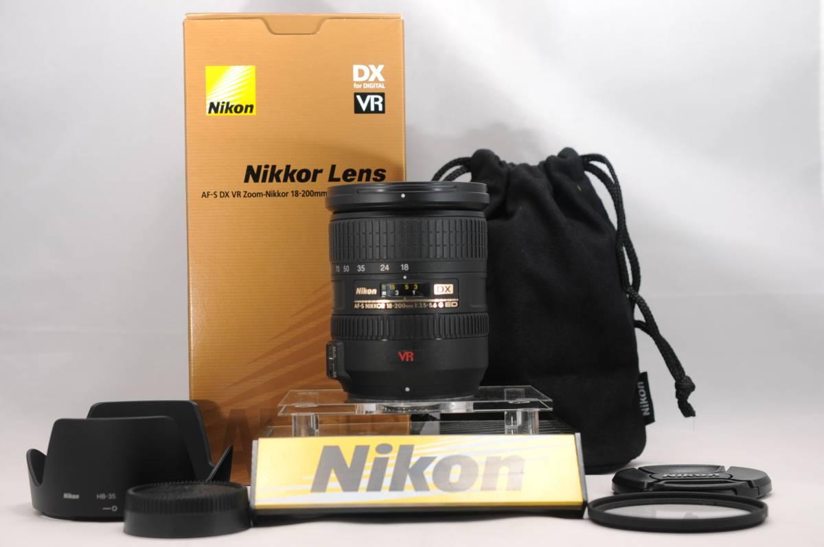 NIKON ニコン AF-S DX NIKKOR 18-200mm F3.5-5.6 G ED VR #911