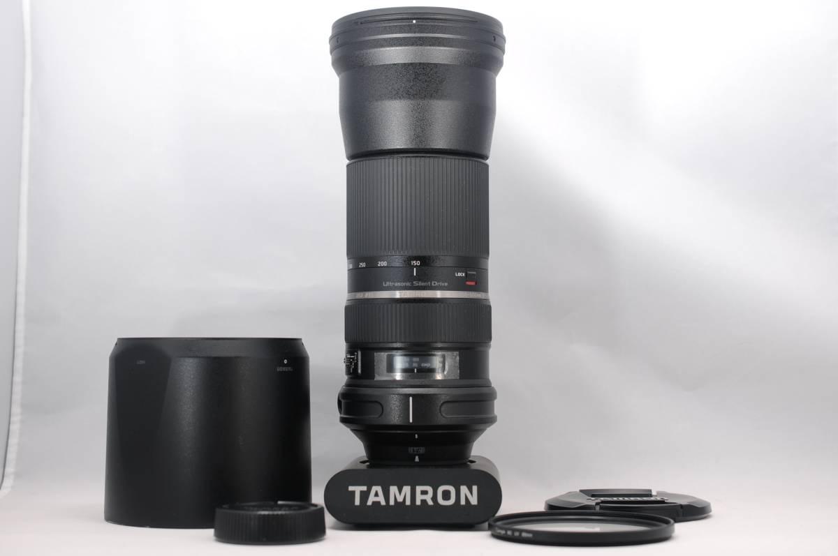 ほぼ新品 TAMRON タムロン SP 150-600mm F5-6.3 VC USD NIKON ニコン用 #958