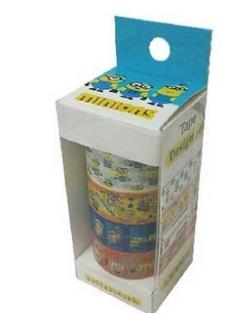 ミニオンズ マスキングテープ!!たっぷり4柄セット A グッズの画像