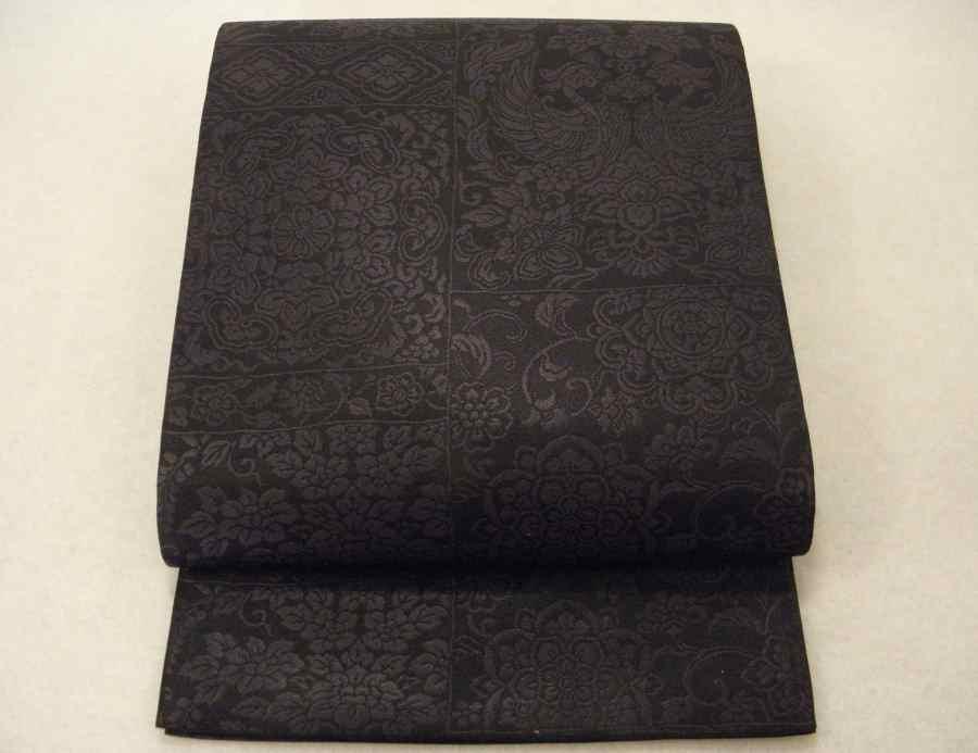 【帯喜楽】た2●袋帯●美品●鳳彩正倉院紋_美しい正倉院柄の袋帯です