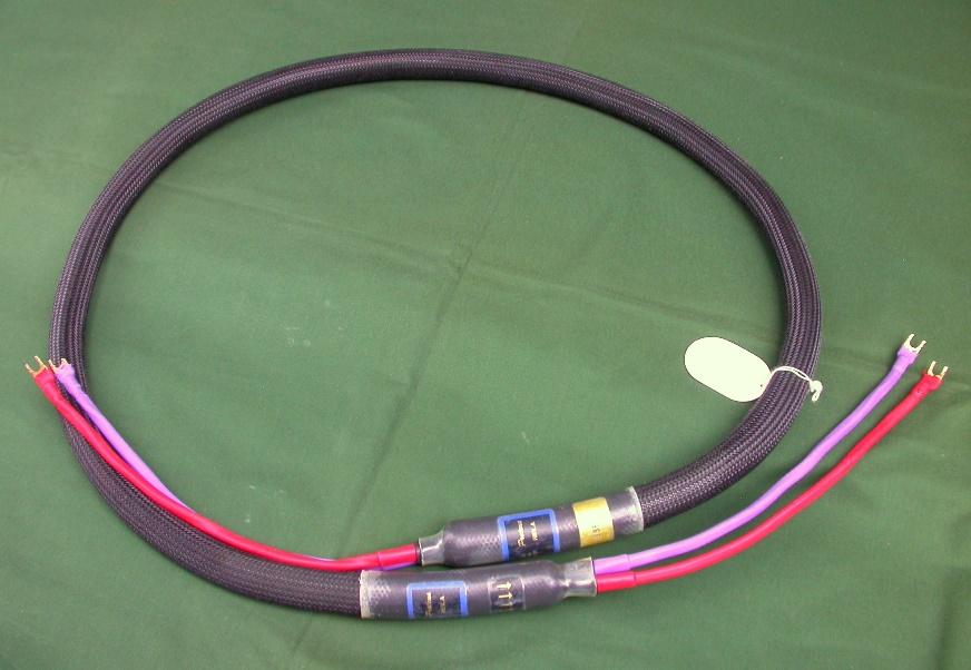 米PAD/PROTEUS Rev.A Bi-Wire 2.0m スピーカーケーブル、バイワイヤー・ペア(4本)_画像7