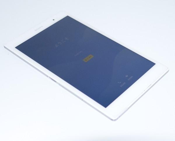 【美品】SONY Xperia Z3 Tablet Compact SGP621 LTE SIMフリー★ホワイト Android7化済+おまけ_画像2