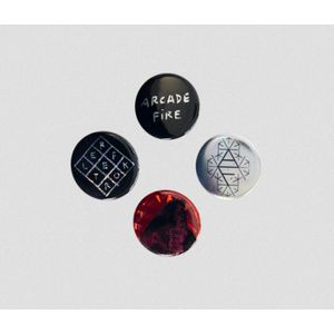 正規品 送料140円 Arcade Fire アーケイド・ファイア Reflektor Bottun Pack 缶バッジ セット The xx Ed Sheeran Everything Now