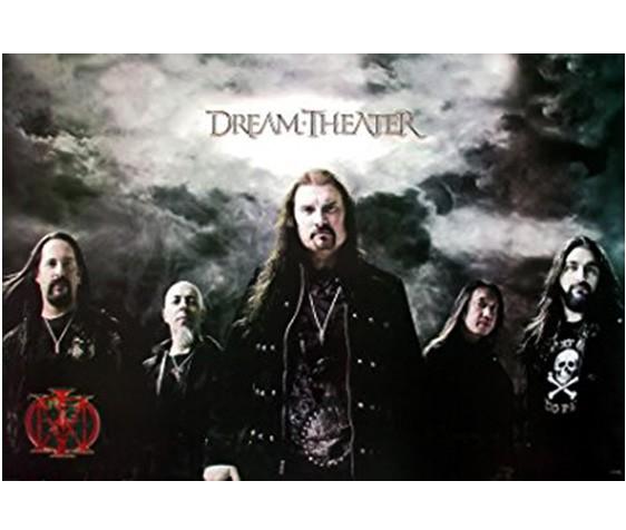 【送料無料】ドリーム・シアター(Dream Theater) ポスター■ [J-1876]