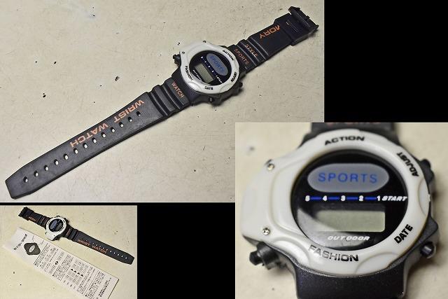 【時計】 デジタル腕時計 西部ビーエス販売_画像2
