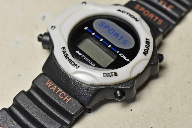【時計】 デジタル腕時計 西部ビーエス販売_画像3