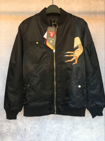 正規・美品 UNDERCOVER アンダーカバー MA-1 フライトジャケット flight jacket PRIMALOFT サイズ4 正規 タグ付き